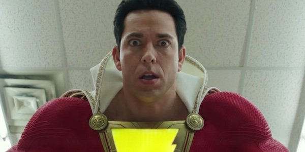 Shazam looking surprised