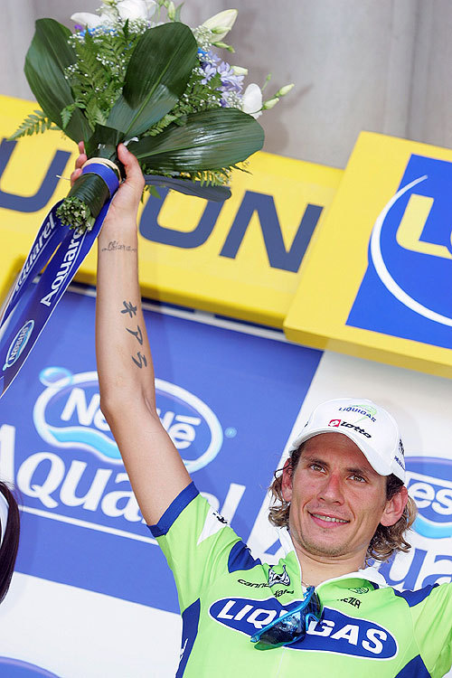 Filippo Pozzato Tour de France st5