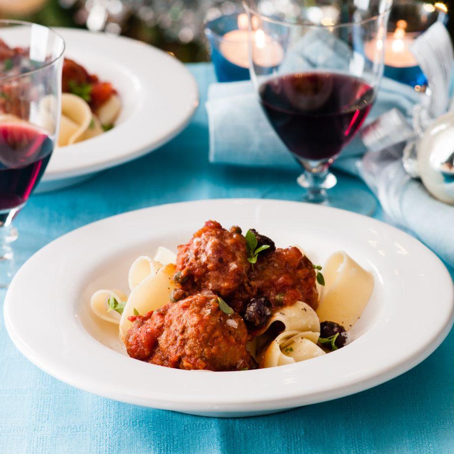 Puttanesca Meatballs Recipe