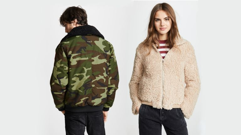 12 stylish shearling jackets to keep you cosy this winter