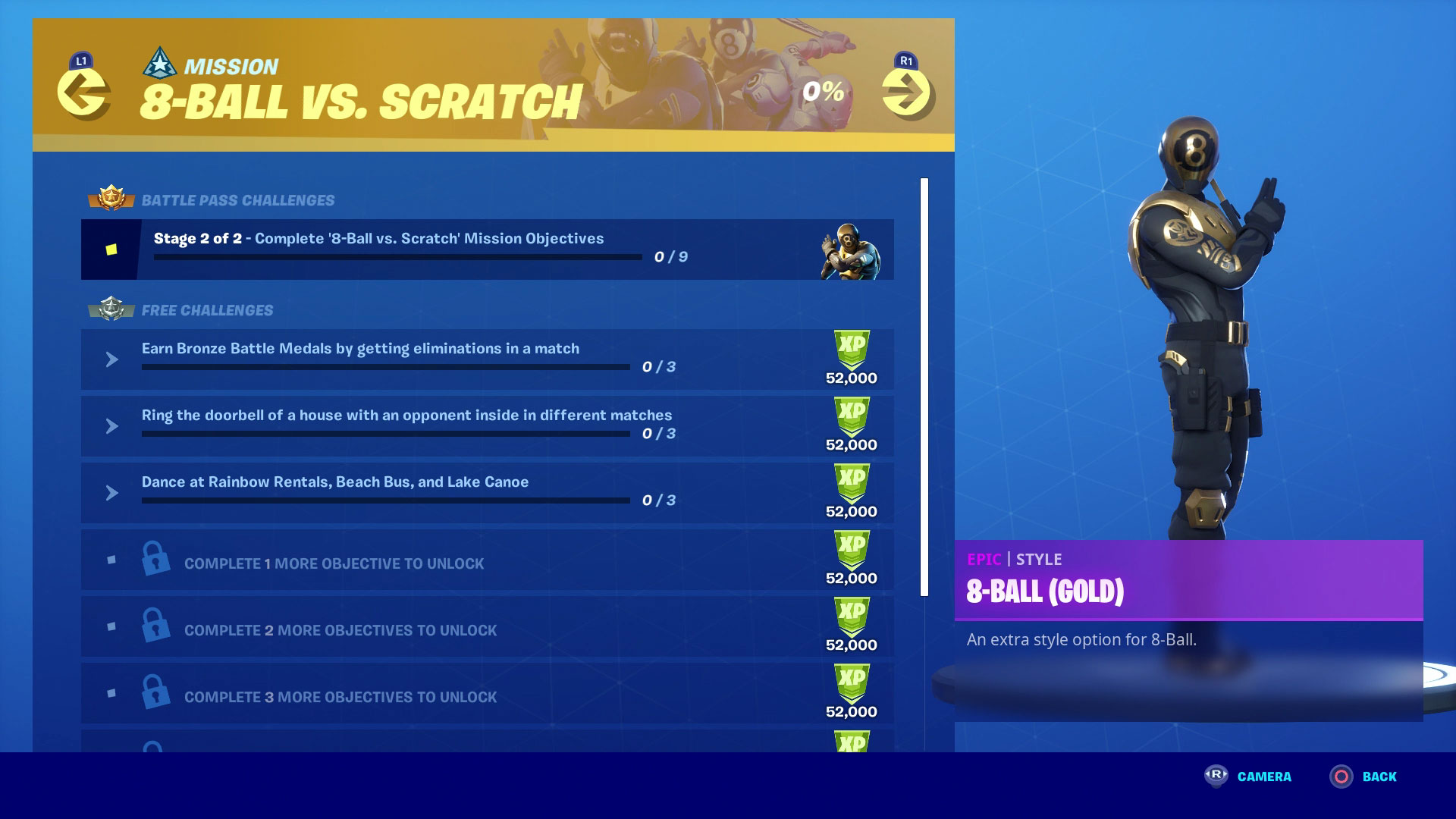 Where Are All The Doorbell Places In Fortnite Fortnite 8 Ball Vs Scratch Challenges How To Beat The Full Chapter 2 Season 1 Mission Gamesradar