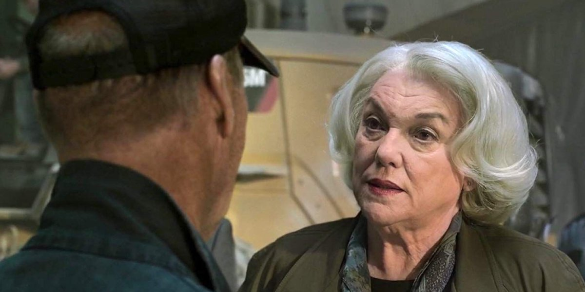 Tyne Daly as Anne Marie Hoag in Spider-Man: Homecoming