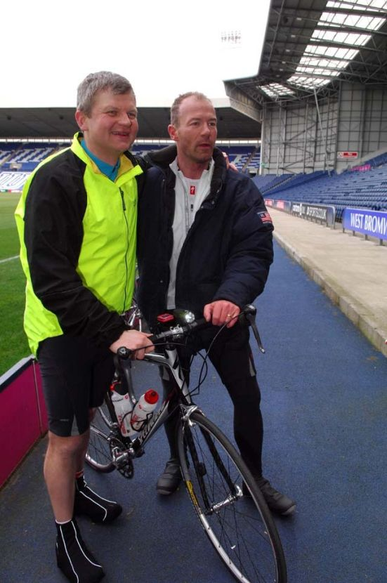 Adrian Chiles Alan Shearer Sport Relief