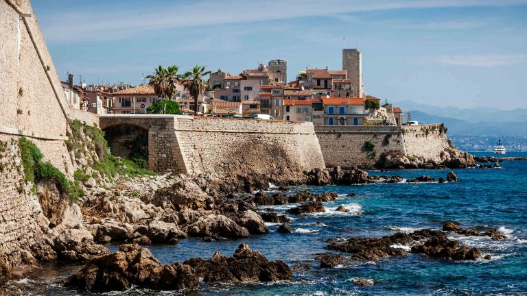 Buy property in Europe - View of the resort town of Antibes on the French Riviera