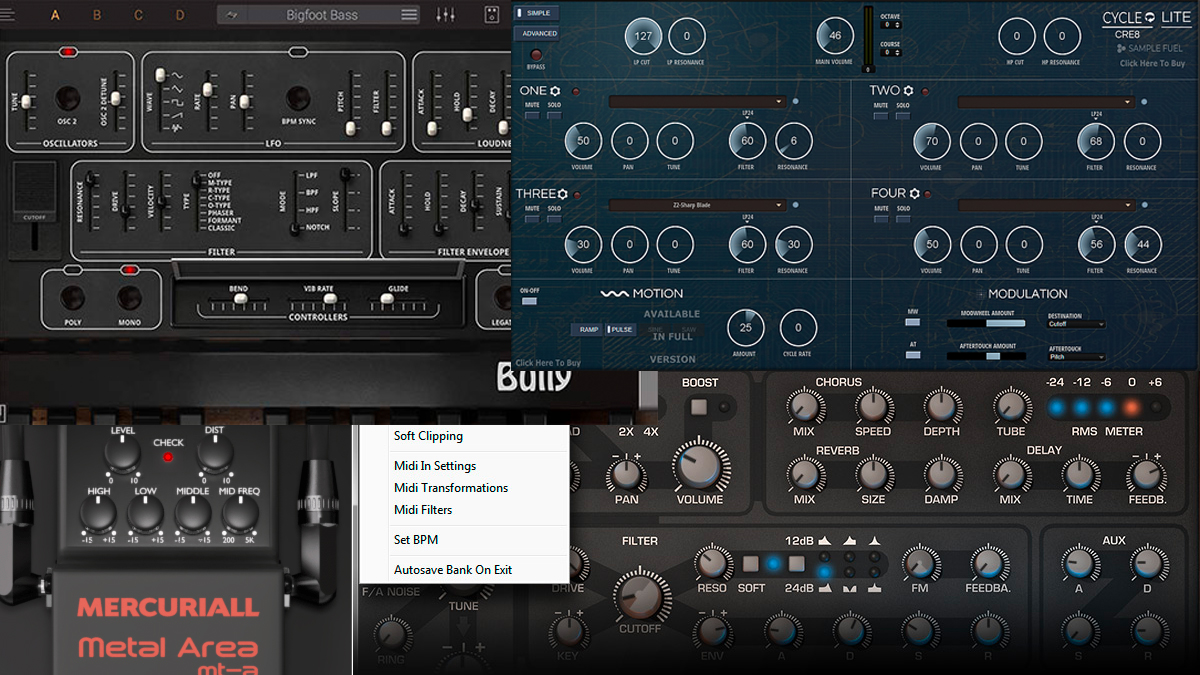 This week's best free plugins and music software: synths, a VST host, and a classic guitar pedal | MusicRadar