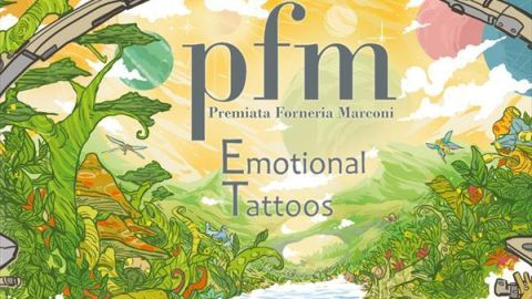Cover art for PFM - Emotional Tattoos album