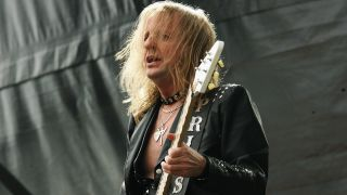 KK Downing in 2008 with Judas Priest