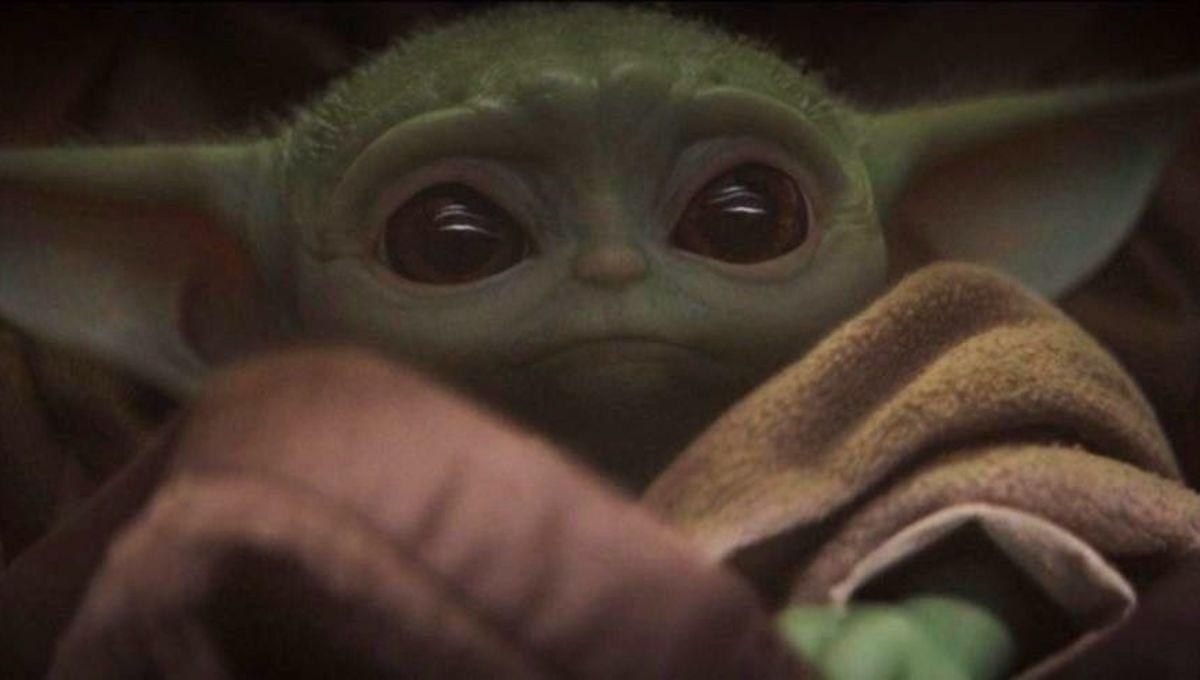 Baby Yoda on The Mandalorian (2019)