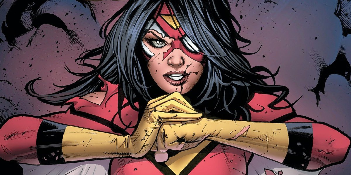Spider-Woman ready for action