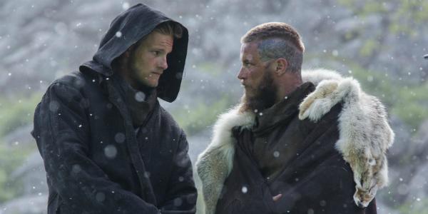 Vikings Alexander Ludwig Bjorn Travis Fimmel Ragnar History
