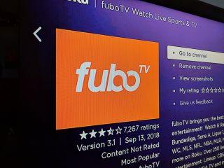 Fubo TV logo on Roku