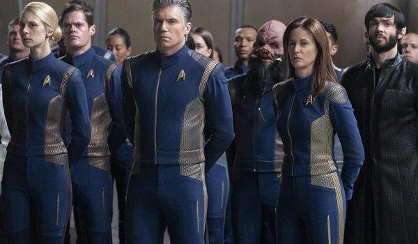Star Trek: Discovery crew cbs all access