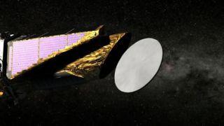 Planet-Hunting Kepler Telescope Lifts Its Lid