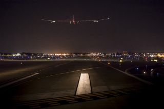 Solar Impulse Takes Off From St. Louis