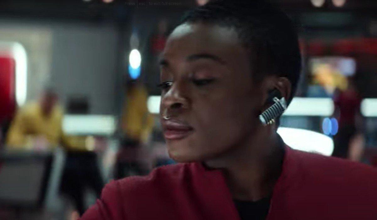 Cadet Uhura Star Trek: Strange New Worlds Paramount+