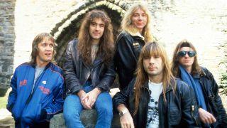 Iron Maiden circa 1984