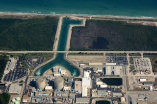 Florida Power & Light operates two nuclear energy plants in South Florida that could be affected by Irma. Here, one of those plants, St. Lucie Power Station, which is located on Hutchinson Island near Port St. Lucie.