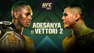watch ufc 263 live stream Adesanya vs Vettori