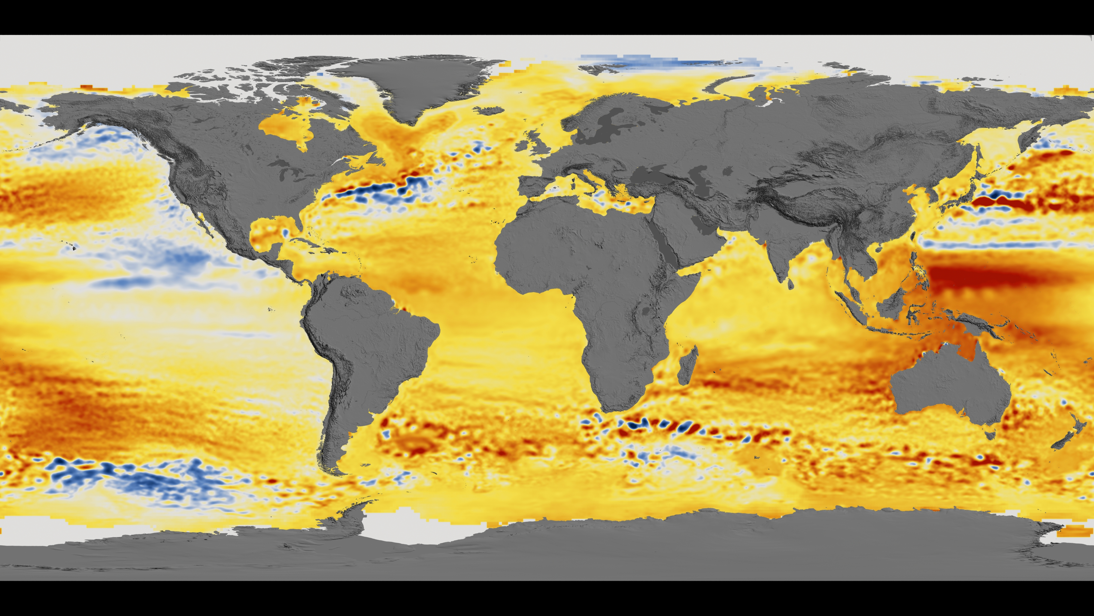 Sea Level Map New NASA Model Maps Sea Level Rise Like Never Before (Video) | Space