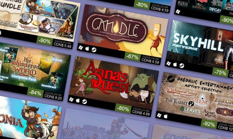 Daedalic Entertainment is having a weekend Steam sale