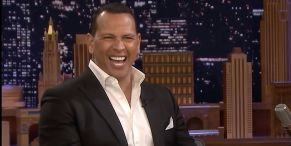 A-Rod Takes The High Road When Asked About His Break-Up With JLo