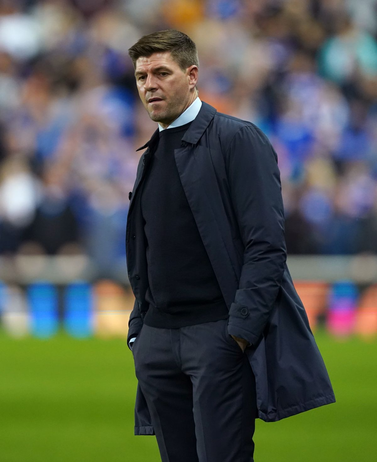 Rangers beaten at home by Lyon in Steven Gerrard's 50th European tie as manager