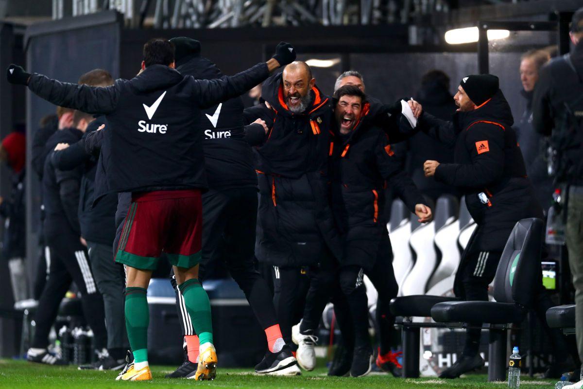 Nuno Espirito Santo urges Wolves to build on win at Fulham