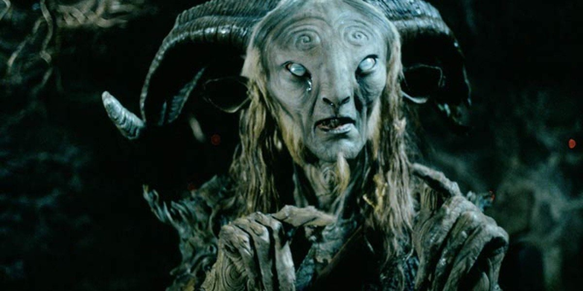 An example of the special effects and makeup in Pan's Labyrinth.
