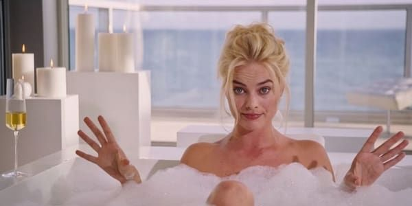 Margot Robbie in a bubble bath in The Big Short