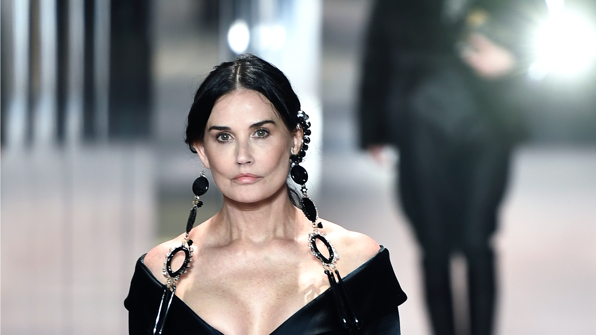 Everyone's talking about Demi Moore's Fendi beauty look   Woman & Home