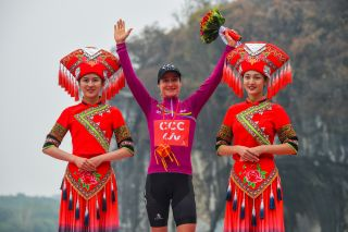 Chloe Hosking won the women's Tour of Guangxi 2019 race