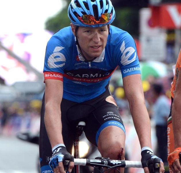 Ryder Hesjedal, Tour de France 2012, stage six