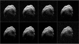 Radar Images of Halloween Asteroid