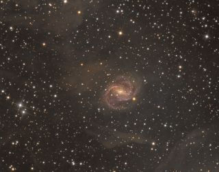 Barred Spiral Galaxy Snyder