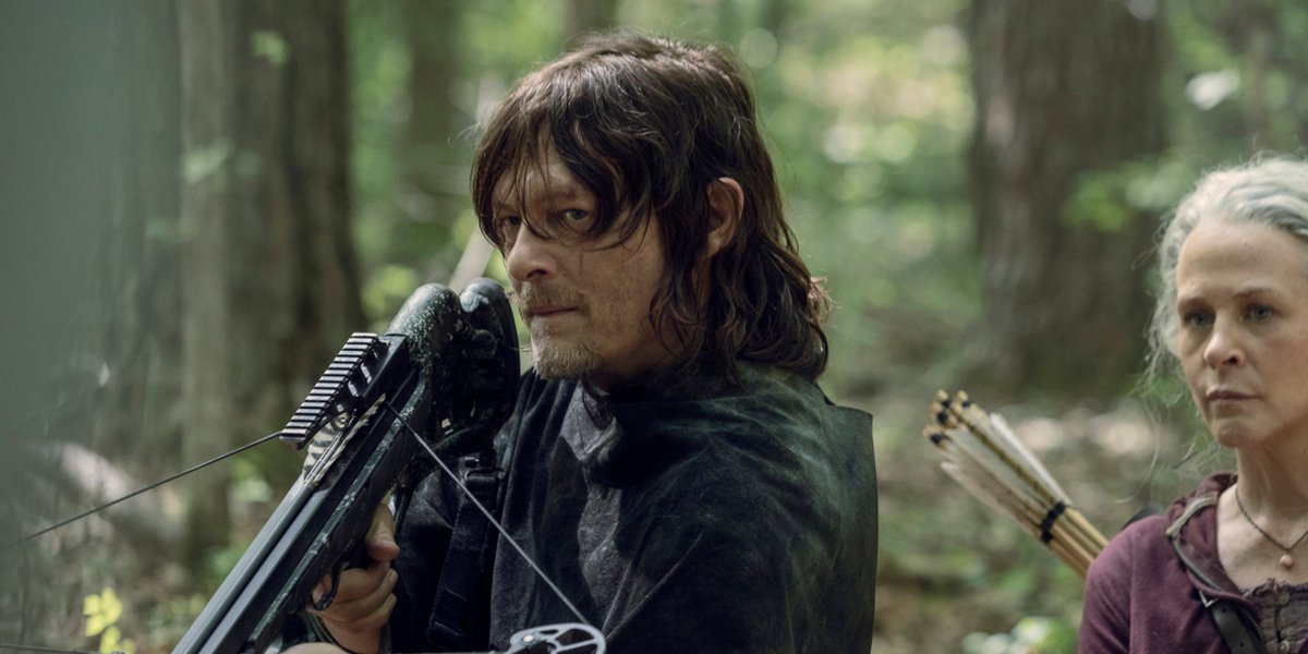 the walking dead season 10 daryl dixon crossbow amc