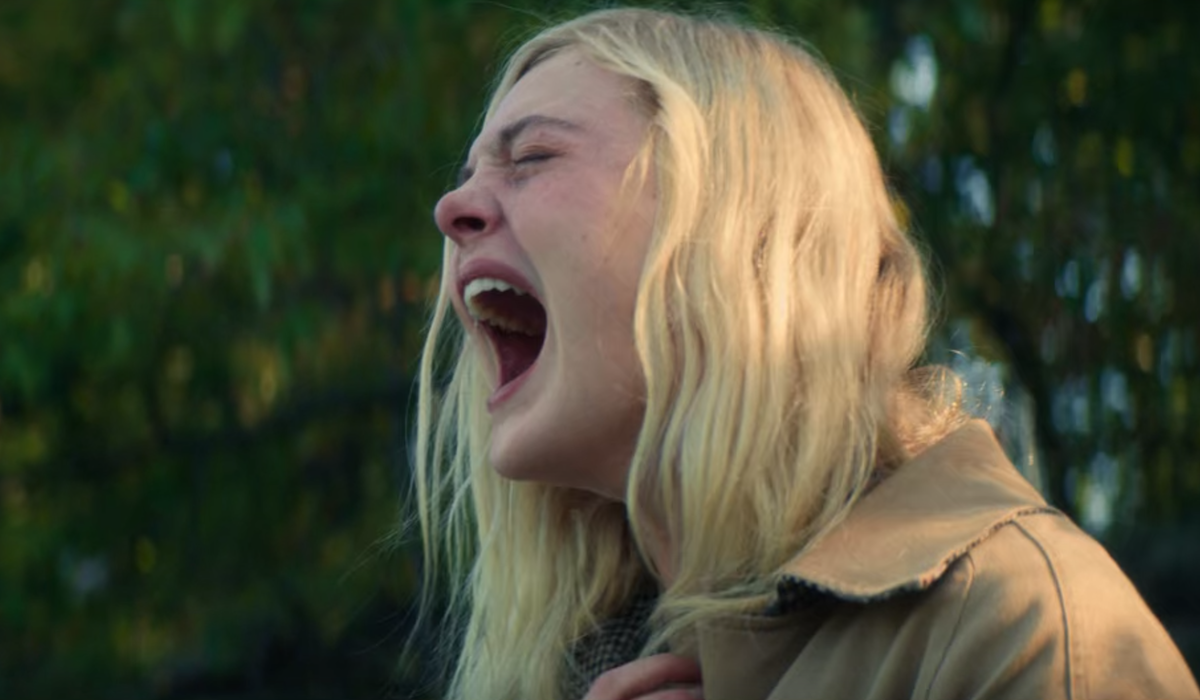 Elle Fanning as Violet Markey in All the Bright Places