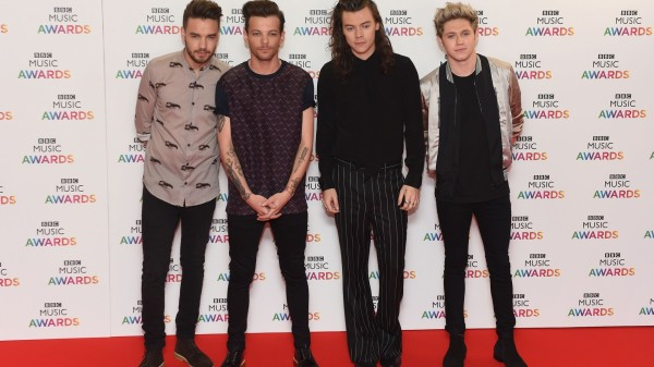 One Direction at the BBC Music Awards