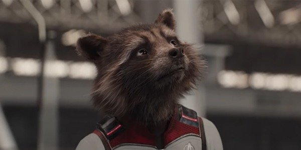 Rocket in his Quantum Suit