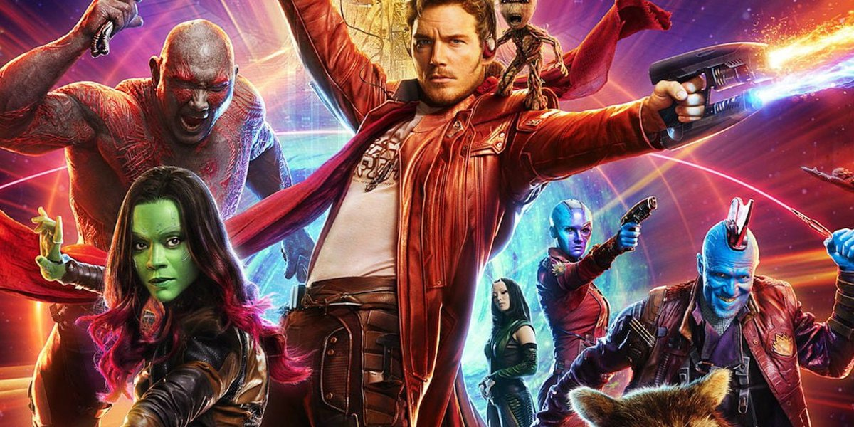 Guardians of the Galaxy character poster Marvel