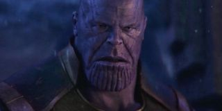 Thanos during the Soul Stone sequence