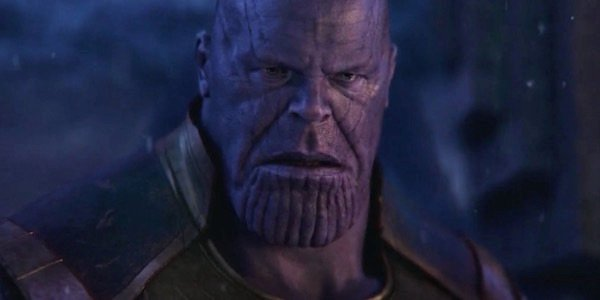 Thanos Originally Narrated Avengers: Infinity War