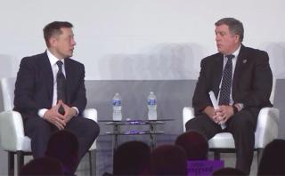 Elon Musk at ISSR&D 2017