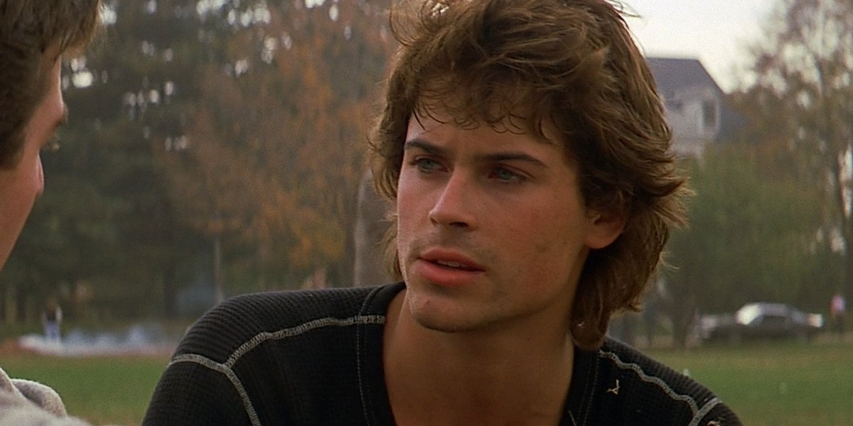 Rob Lowe as Billy Hicks in St. Elmo's Fire