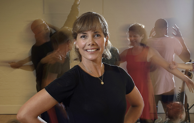 Darcey Bussell: Dancing to Happiness - shows Darcey in dance studio, show is on Saturday 1st December