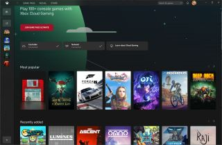 Xbox Game Pass app streaming