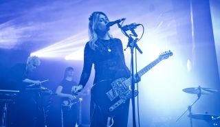 Laura-Mary Carter of Blood Red Shoes performs live on stage at the Metropol on November 5, 2019 in Berlin, Germany