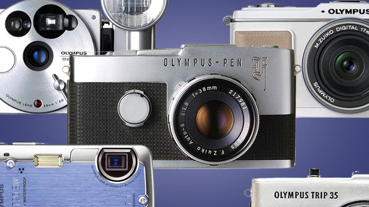 Aw, snap! The 12 best Olympus cameras ever, from Pen F to OM-D - TechRadar South Africa