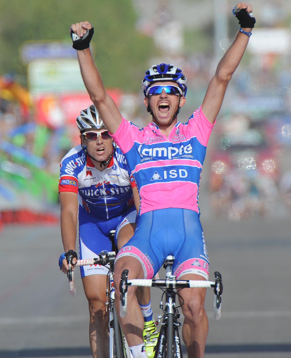 Francesco Gavazzi wins, Vuelta a Espana 2011, stage 18