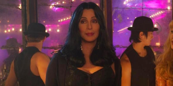 Cher as Tess in Burlesque