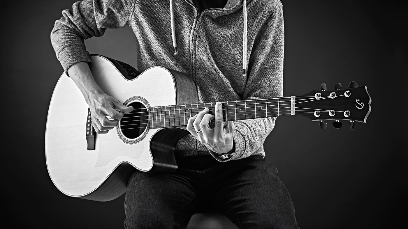 Improve your acoustic folk guitar playing in 20 minutes